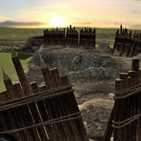 Thunes Keep: Fortifications